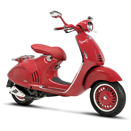 SALES OF (VESPA)RED WILL RAISE MONEY FOR THE GLOBAL FUND